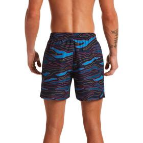 "Nike Swim 6:1 Stripe 5"" Volley Shorts Heren, blauw"